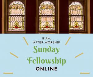 Sunday-Fellowship-Online