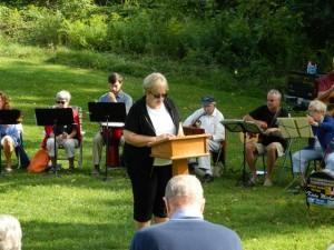 Worship at Wing Haven 2015